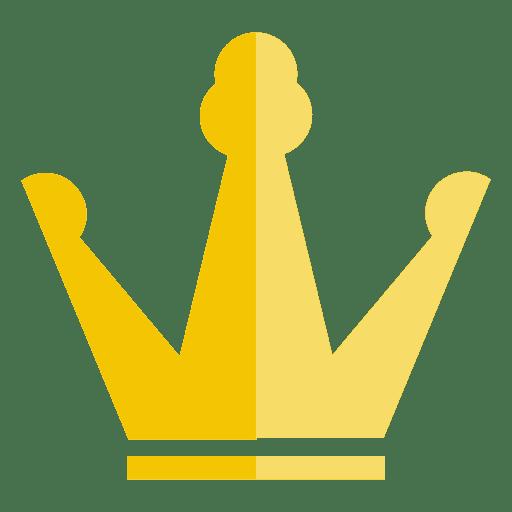 Corona trébol icono delgado Transparent PNG