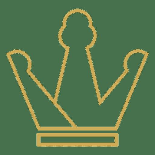 Trevo de coroa fino Transparent PNG
