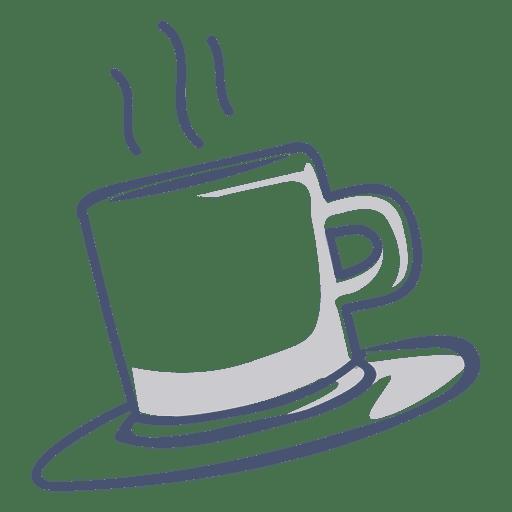Ilustración de taza