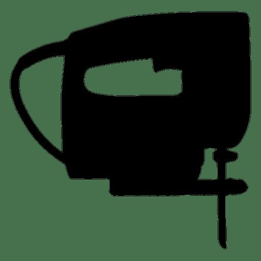 Silueta de sierra de calar eléctrica