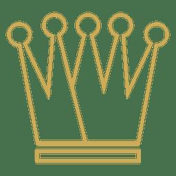 Corona de cinco puntos