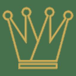 Corona de cuatro puntos