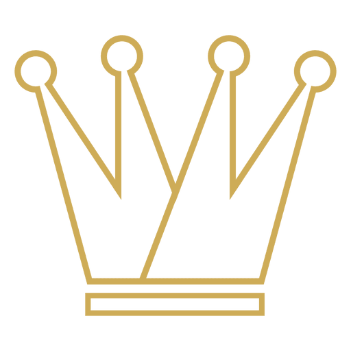Four point crown stroke