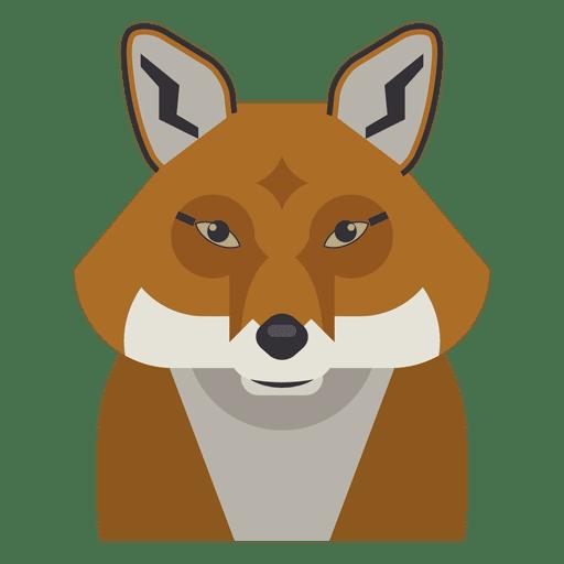 Fox illustration Transparent PNG