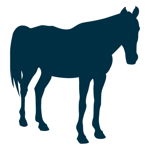 Pferd noch Silhouette Transparent PNG