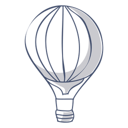 Hot Air Balloon Symbol