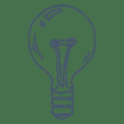 Ilustração da lâmpada