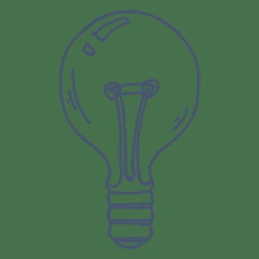 Glühbirne Abbildung Transparenter Png Und Svg Vektor