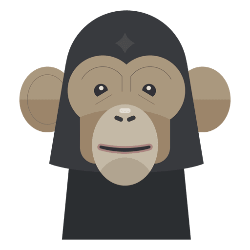 Monkey illustration Transparent PNG
