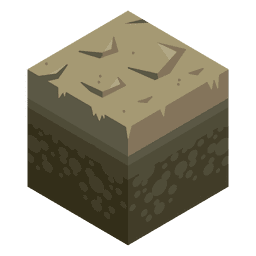 Paisaje isométrico del fango