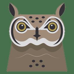 Ilustração coruja