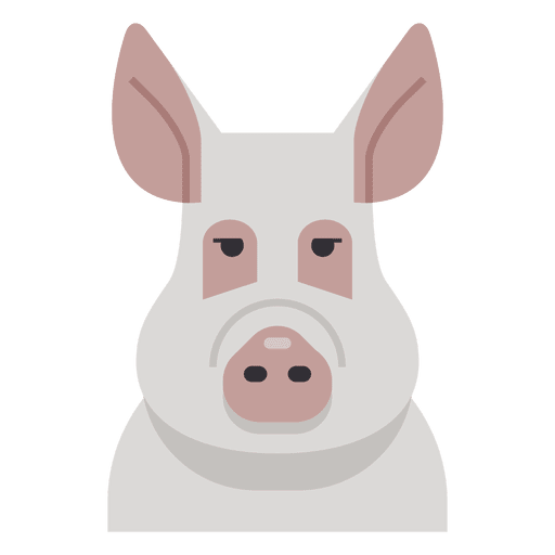 Pig illustration Transparent PNG
