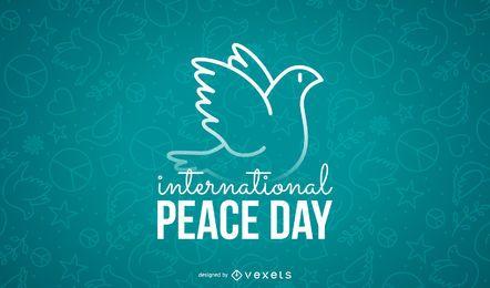 Poster zum Internationalen Friedenstag