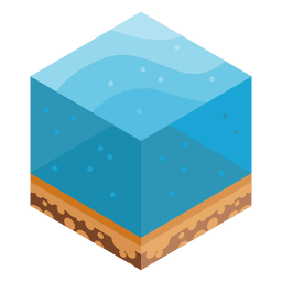 Sea isometric landscape