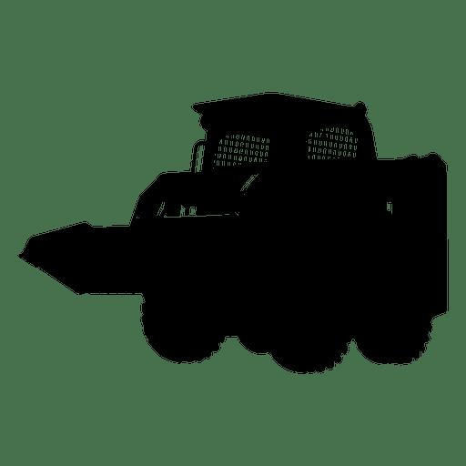 Skid steer silhouette