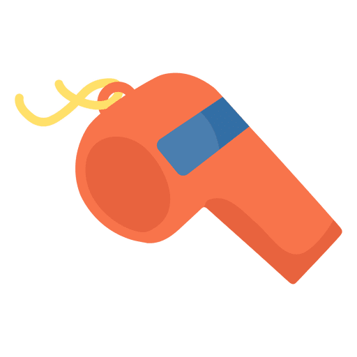 Sport whistle icon american football Transparent PNG