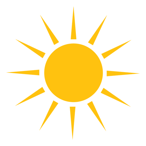 Sun Sharp Rays Big Icon Transparent Png Amp Svg Vector