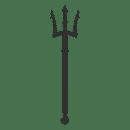 Trident sharp wide silhouette