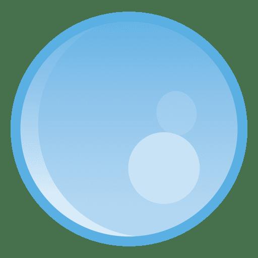 Water drop circle illustration Transparent PNG