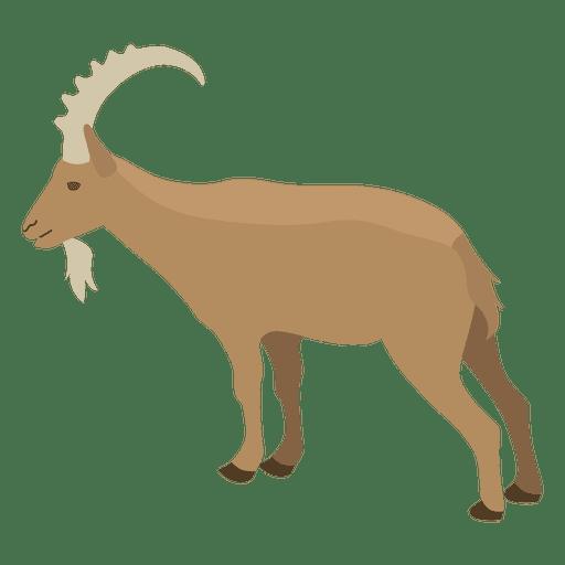 Ilustración de cabra salvaje Transparent PNG