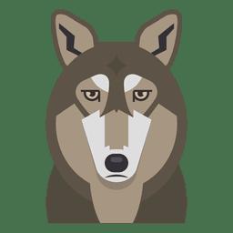 Ilustração do lobo