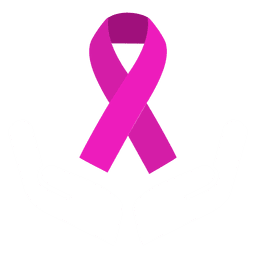Cinta del día mundial del cáncer redondeada pequeña
