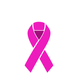 Día mundial del cáncer cinta estilizada