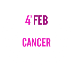 World cancer day text