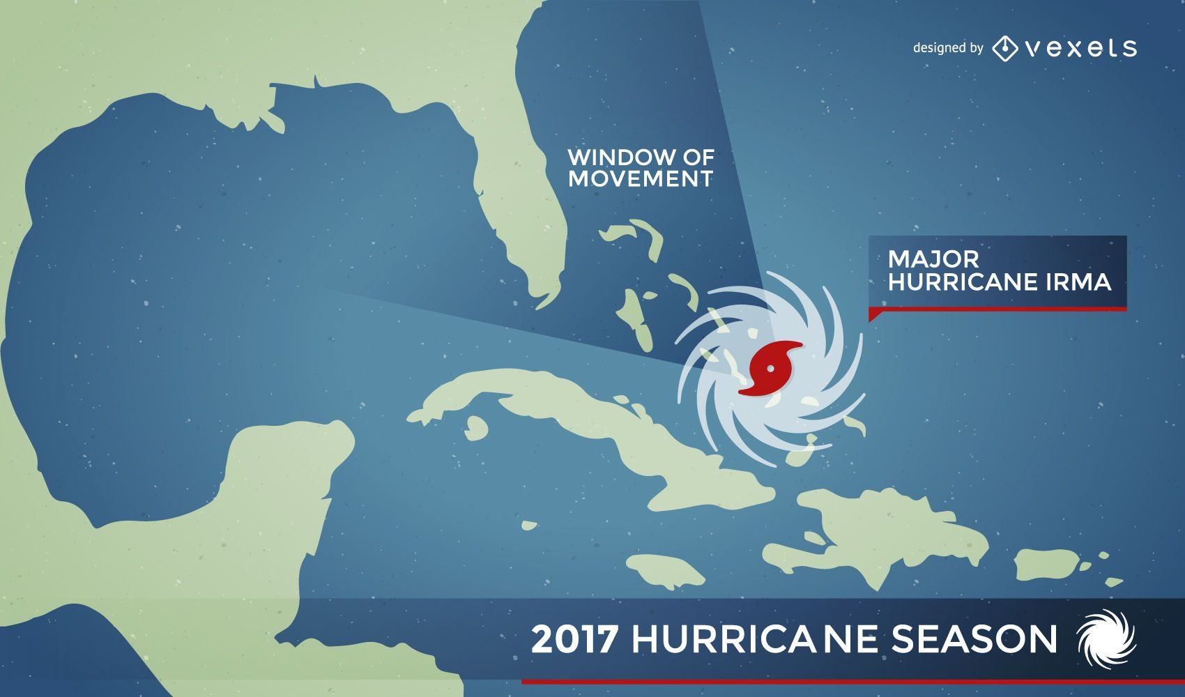 Hurricane Irma map alert