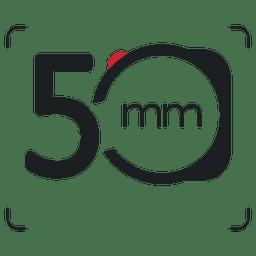 Ícone de fotografia de câmera de 5mm