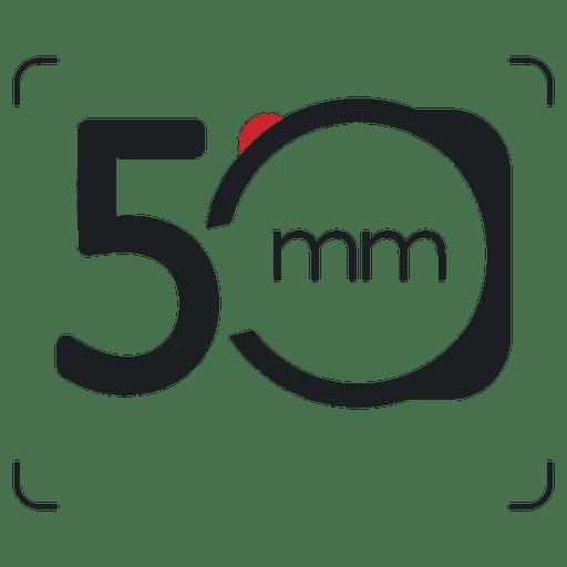 Icono de fotografía de cámara de 5 mm Transparent PNG