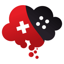 Cloud computing gaming logo
