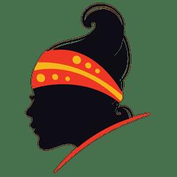 Logotipo de mulher fashoin