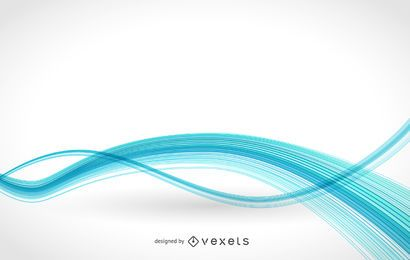 Minimalist wavy white background