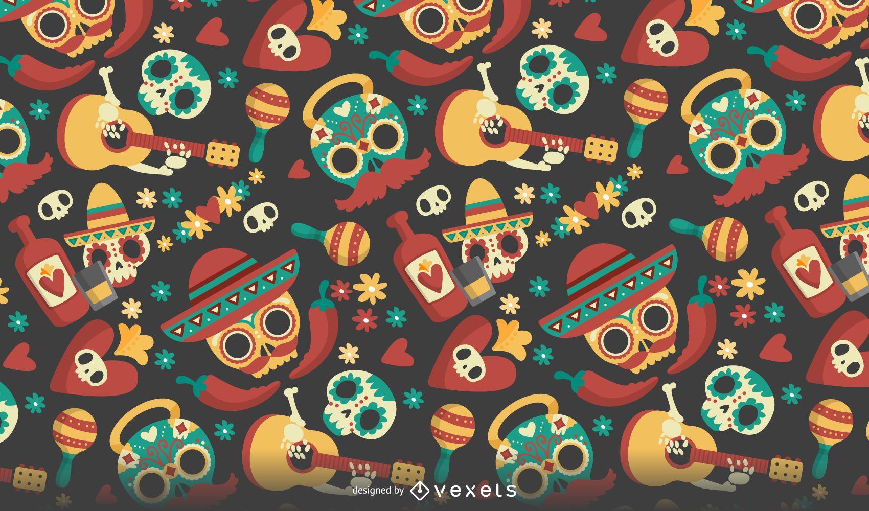 Dia De Los Muertos Wallpaper Mexican Download