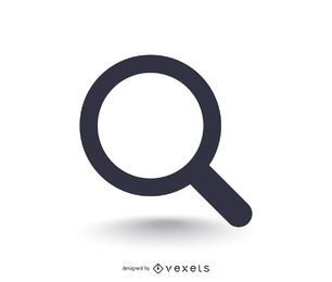 Icono de búsqueda básico