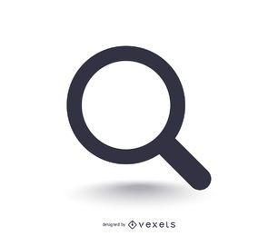 Icono de búsqueda básica