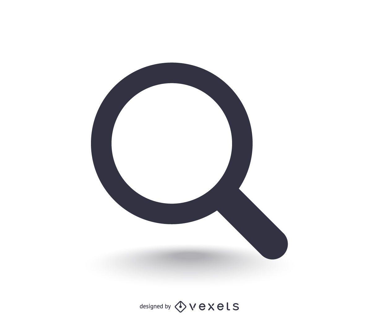 Basic search icon