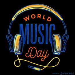 Cartaz do Dia Mundial da Música