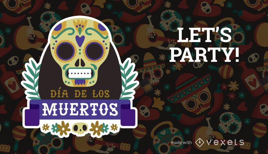 Dia De Los Muertos Design Maker Editable Design