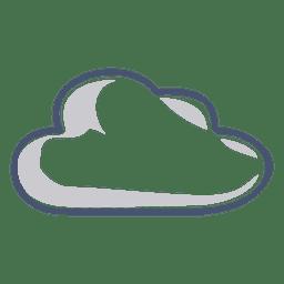 Ilustração de nuvem