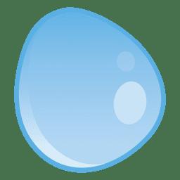Ilustração de gotículas