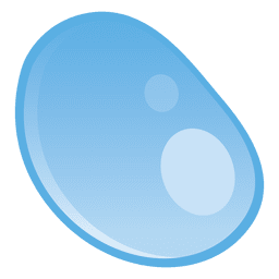 Droplet round illustration