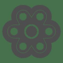 Seis tirador spinner grafico