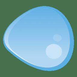 Ilustração de gota de água