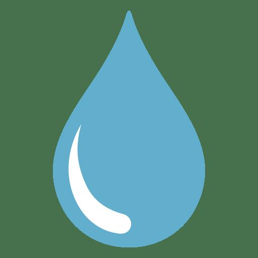 Ilustración de un vistazo agudo de gota de agua