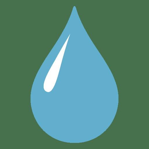 Gota de agua aguda vislumbrar ilustraci?n