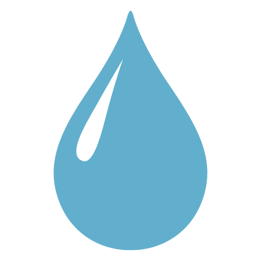 Waterdrop sharp glimpse up illustration