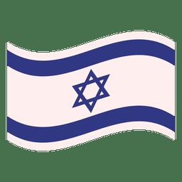 Ilustração da bandeira de Israel