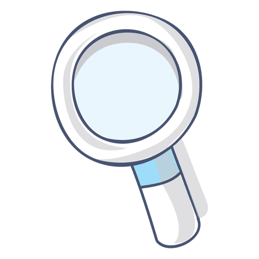 Magnifying glass illustration hand drawn transparent png for Transparent glass wall